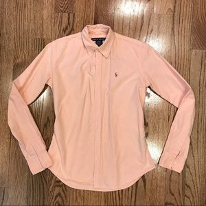 EUC like new! Ralph Lauren pink button down shirt